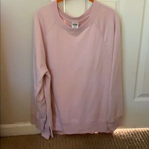 PINK tunic sweatshirt